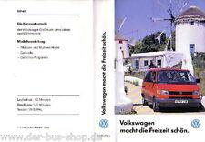 VW Bus T4 - VHS Video - Präsentation Modelljahr 1994