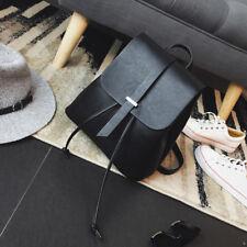 Women Girls Backpack Travel PU Leather Handbag Rucksack Shoulder School Book Bag