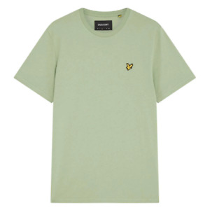 Lyle & Scott Plain Plain Crew Neck T-Shirt Fern Green