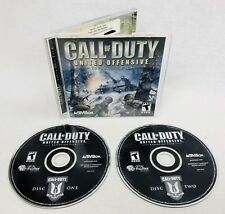 CALL OF DUTY UNITED OFFENSIVE COMPUTER PC GAME CD-ROM XP EXCELLENT FREE SH