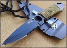 MASTER USA NECK KNIFE/BOOT KNIFE WITH HARD SHEATH - 6.75 INCH OVERALL