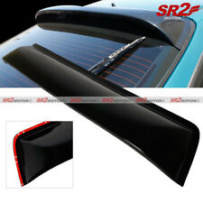 Rear Roof Spoiler Window Visor Glossy Black Wing fits 94-01 Acura Integra DC2