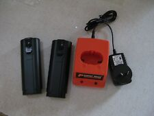 2 Battery For Paslode 6V Nail Gun Ni-MH  Gas Nailer 900420 B20540 +charger