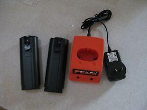 2 Battery For Paslode 6V Nail Gun Ni-MH  Gas Nailer 900420 B20540 +charger