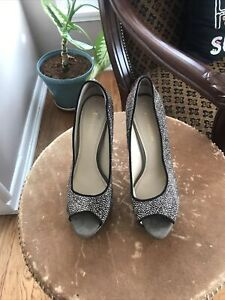 Pink Black And Gray Enzo Angiolini Pumps Sz 11