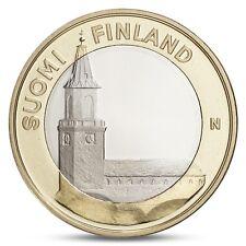 FINLAND FINLANDE 5 EURO PROVINCIAL BUILDINGS FIN-PROPER TURKU CATHEDRAL 2013 UNC