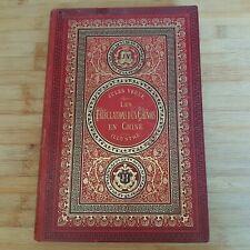 livre jules verne edition hetzel de 1878 tribulations d un chinois en chine