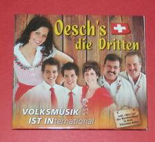 Oesch's die Dritten - Volksmusik ist international (Digipak) -- CD / Volksmusik