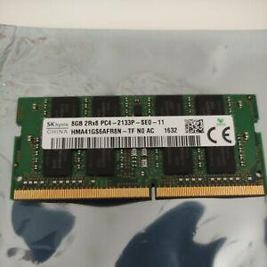 SK Hynix 8GB PC4-2133P DDR4 SODIMM Laptop RAM - HMA41GS6AFR8N-TF (SEE DESCRIP..)