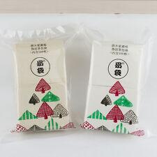500pcs 2.8'x3''7*8cm Sisal Fiber German Empty Filter thin Coffee Tea Bag lucency