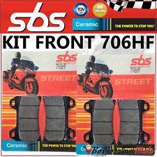 PASTIGLIE FRENO ANTERIORE SBS CERAMIC MOTO GUZZI NORGE T-GTL ABS 1200 2006-2009