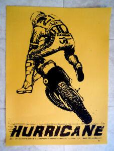 "Vintage Motocross RIDER- Bob Hannah Unadilla-18 x 24"" NEW Poster-Yamaha-YZ-JT"