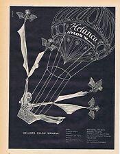 PUBLICITE ADVERTISING 045 1956 HELANCA Nylon mousse bas chaussettes gants