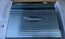 New Old School Design Us Acoustics Wendy 2 Channel amplifier,Amazing Sq,260 watt
