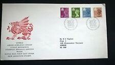 Grossbritannien UK 1984 FDC Satz Regionalmarken Machin Wales
