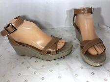 Salvatore Ferragamo Women's Wedges Sandals Shoes 9 Store Display