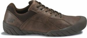 Caterpillar Haycox Bistro Brown Leather Lace Up Casual Leisure Shoes UK 8 EU 42