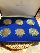 More details for gibraltar 1993 100 years of peter rabbit 6 crown silver proof set