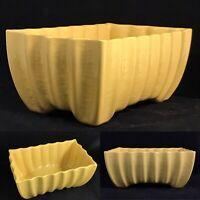 Vintage Yellow Pottery Planter USA Bonsai Houseplant Ceramic McCoy? Large A+++