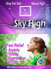 GET HIGH Naturally All natural inhaler for depression PTSD, stress and anxiety