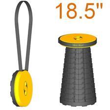 "Unpadded 18.5""(47cm) portable Mini-Max stool (Safrut) Folding seat. Travel chair"