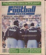 Pro Football Weekly October 14, 1990 Art Shell Los Angeles Raiders Vol 5 No 10
