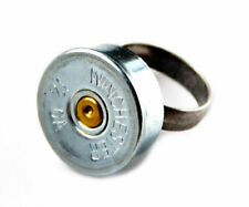 Genuine Shotgun Shell Adjustable Statement Ring - QHG1