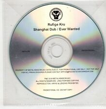 (GU422) Rufige Kru, Shanghai Dub / Ever Wanted - 2009 DJ CD