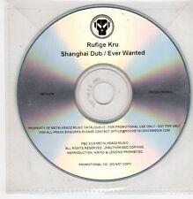(GU422) Rufige Kru, Shanghai Dub / Ever Wanted - 2009 DJ CD