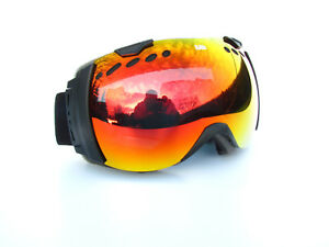 Ravs Ski Goggles Snowboard Protective Skiing Also For Spectacle Wearers
