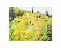 Pierre Auguste Renoir Aufsteigender Weg im Grünen Poster Kunstdruck 24x30cm
