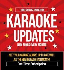 Karaoke Collection Updates - New Karaoke Songs! - For all Karaoke Collections!