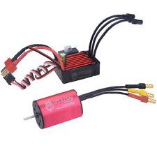 1/24 1/18 Coche RC Modelo 2030 motor sin escobillas Sensorless 4500KV 4 polos +25A Esc