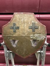 Antique / Movie Prop Shield Medieval Knights Wall Hanger