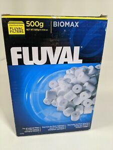 Fluval Biomax 500g 17.63oz Filter Media A1456, New Factory Sealed
