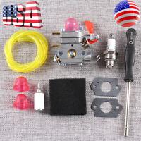 Carburetor Carb for Poulan Pro 530071811 P4500 PP025 PP125 PP258TP PP25E Trimmer