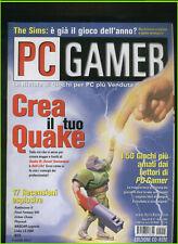 PC GAMER 51 2000battlezone2,final fantasy8,urban chaos,pharaon,links ls,nox