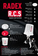 RADEX Cup System  cup 750ml  (50 pcs) + Filter 750130 oder 750180 (50 pcs)