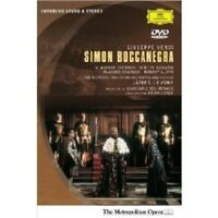 CHERNOV/TEKANAWA/LEVINE/MOO - SIMON BOCCANEGRA DVD NEU