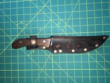 LH Sheath Straight Knife Leather