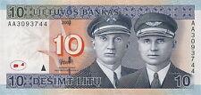 Litauen / Lithuania 10 Litu 2001 Pick 65