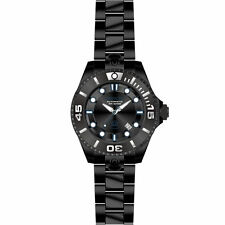 Invicta 19808 Gents 47mm Black Steel Bracelet & Case Automatic Date Watch