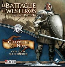 BATTLELORE Le Battaglie di Westeros GUARDIANI DEL NORD Casa Stark i Rinforzi