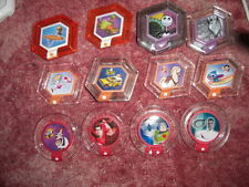 Choose 6 Disney infinity wave 3 ,1,2 power discs ,inc RARES