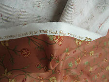 Mill Creek Fabrics Pattern Talent Color Adobe Cotton Floral  5.2 Yd x 55 In