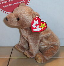Ty Pecan the Bear Beanie Baby plush toy
