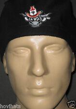 UNIVERSITY OF TEXAS AUSTIN BEVO LOGO ON A BLACK SCRUB HAT /  FREE CUSTOM SIZING