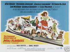 Moll Flanders Kim Novak vintage movie poster