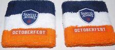 2 NEW Samuel Adams Octoberfest Terry Wristbands Wrist Bands RARE !