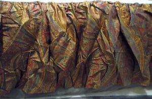 Ralph Lauren Home Great Barrington King Bed Skirt Paisley Burgundy Split Corner